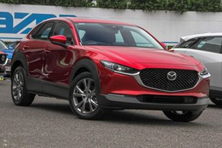 2021 Mazda CX-30 DM2WLA G25 SKYACTIV-Drive Astina Red 6 Speed Sports Automatic Wagon.