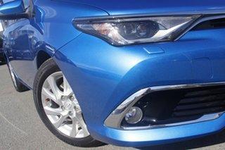 2017 Toyota Corolla ZWE186R Hybrid E-CVT Blue Gem 1 Speed Constant Variable Hatchback Hybrid.