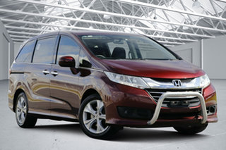 2015 Honda Odyssey RC VTi Carnelian Red Continuous Variable Wagon.