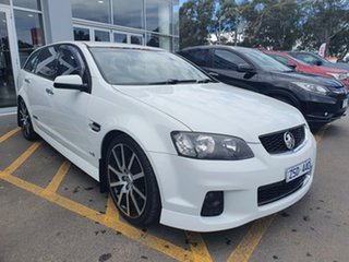 2012 Holden Commodore VE II MY12 SS Sportwagon White 6 Speed Sports Automatic Wagon.