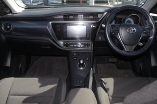 2017 Toyota Corolla ZWE186R Hybrid E-CVT Blue Gem 1 Speed Constant Variable Hatchback Hybrid
