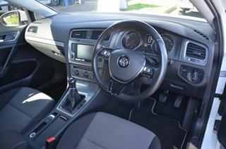 2016 Volkswagen Golf AU MY16 92 TSI Trendline White 6 Speed Manual Hatchback