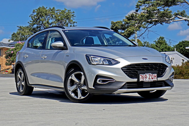 Used Ford Focus SA 2019.25MY Active Capalaba, 2019 Ford Focus SA 2019.25MY Active Silver 8 Speed Automatic Hatchback