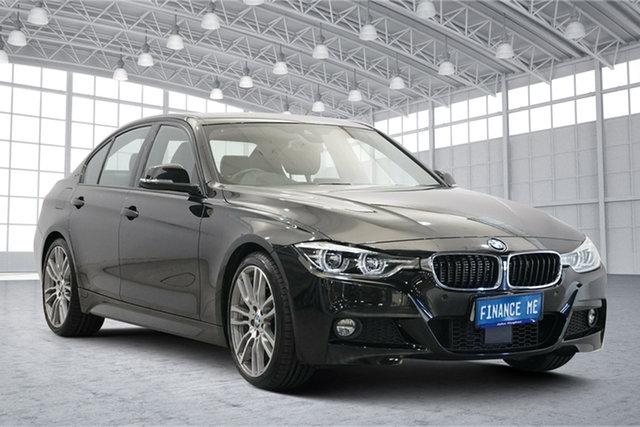 Used BMW 3 Series F30 LCI 330e M Sport Victoria Park, 2017 BMW 3 Series F30 LCI 330e M Sport Black 8 Speed Sports Automatic Sedan Hybrid