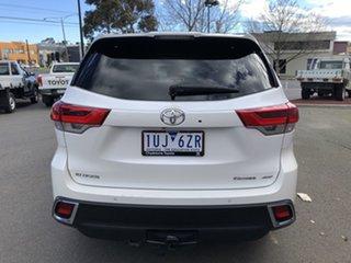 2017 Toyota Kluger GSU55R MY17 Grande (4x4) Crystal Pearl 8 Speed Automatic Wagon