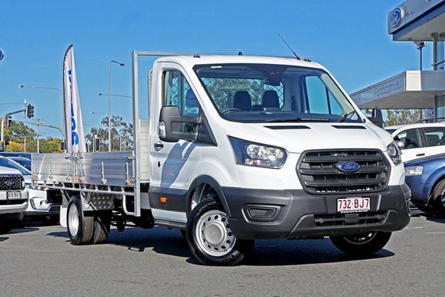 Used Ford Transit 470E Ebbw Vale, 2020 Ford Transit 470E Frozen White 6 Speed Manual Single Cab Cab Chassis