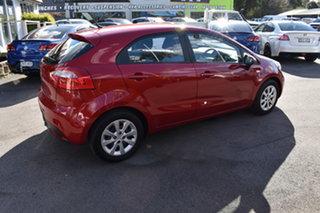 2014 Kia Rio UB MY14 S Red 4 Speed Sports Automatic Hatchback.