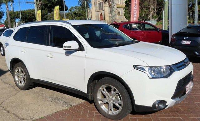 Used Mitsubishi Outlander ZJ MY14 LS (4x4) Toowoomba, 2014 Mitsubishi Outlander ZJ MY14 LS (4x4) White Continuous Variable Wagon