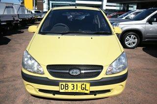 2010 Hyundai Getz TB MY09 S Yellow 4 Speed Automatic Hatchback