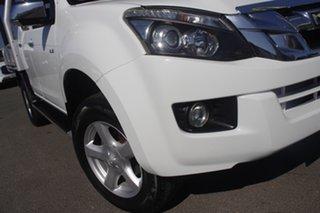 2013 Isuzu D-MAX MY12 LS Crew Cab 4x2 High Ride Splash White 5 Speed Sports Automatic Utility.