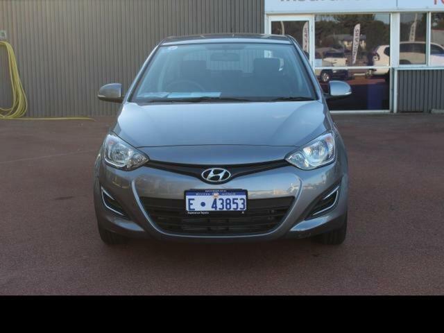 Used Hyundai i20 PB MY14 Active Esperance, 2014 Hyundai i20 PB MY14 Active Grey 4 Speed Automatic Hatchback