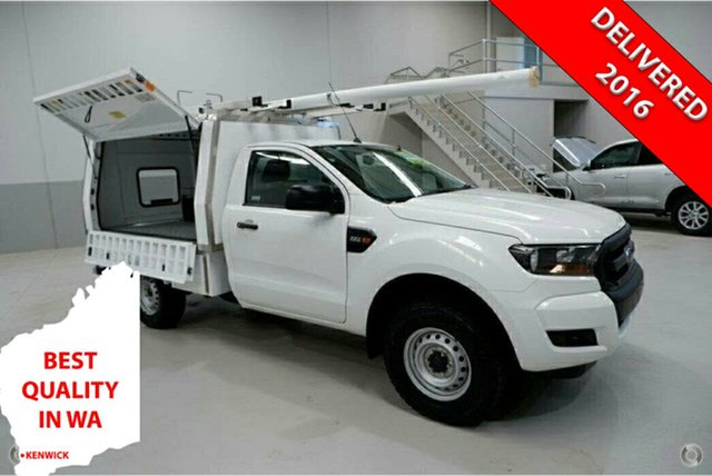 Used Ford Ranger PX MkII XL Hi-Rider Kenwick, 2015 Ford Ranger PX MkII XL Hi-Rider White 6 Speed Sports Automatic Cab Chassis