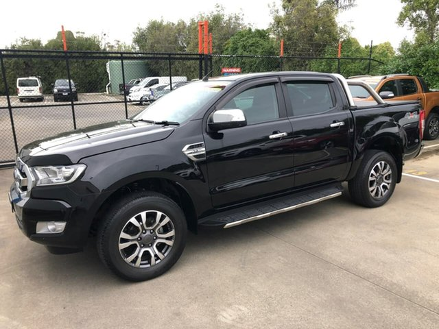 Used Ford Ranger PX MkII XLT Double Cab Berwick, 2017 Ford Ranger PX MkII XLT Double Cab Black 6 Speed Sports Automatic Utility