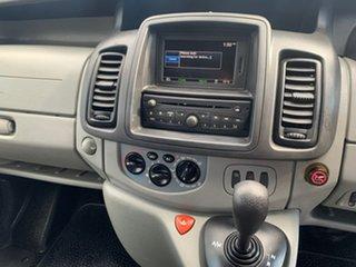 2013 Renault Trafic X83 Phase 3 Low Roof LWB Quickshift White 6 Speed Seq Manual Auto-Clutch Van