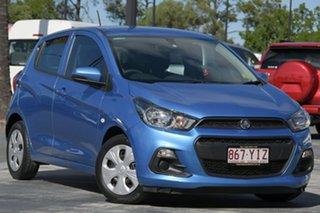 2017 Holden Spark MP MY17 LS Blue 1 Speed Constant Variable Hatchback.