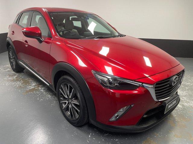 Used Mazda CX-3 DK2W7A Akari SKYACTIV-Drive Raymond Terrace, 2016 Mazda CX-3 DK2W7A Akari SKYACTIV-Drive Red 6 Speed Sports Automatic Wagon