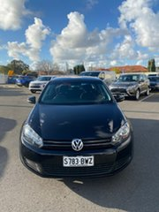 2012 Volkswagen Golf VI MY12.5 90TSI DSG Trendline Black 7 Speed Sports Automatic Dual Clutch.