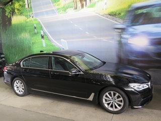 2019 BMW 730Ld G12 30LD Black 8 Speed Automatic Sedan.
