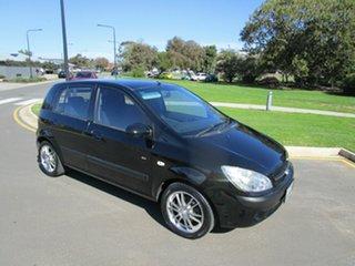 2010 Hyundai Getz TB MY09 SX Black 4 Speed Automatic Hatchback.