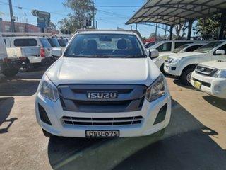 2017 Isuzu D-MAX TF MY17 SX HI-Ride (4x2) White 6 Speed Automatic Cab Chassis.