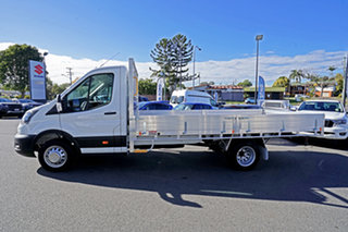 2020 Ford Transit 470E Frozen White 6 Speed Manual Single Cab Cab Chassis