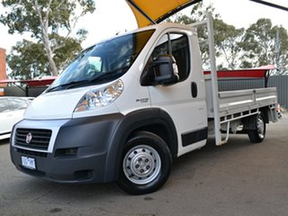 2014 Fiat Ducato Series II MY12 White 6 Speed Manual Cab Chassis