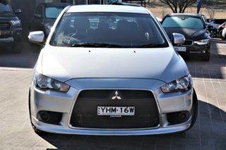 2015 Mitsubishi Lancer CJ MY15 ES Sport Silver 5 Speed Manual Sedan.