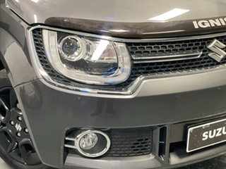 2016 Suzuki Ignis MF GLX Grey 1 Speed Constant Variable Hatchback.