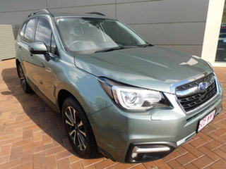 2016 Subaru Forester S4 MY16 2.5i-S CVT AWD Green 6 Speed Constant Variable Wagon.