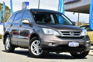 2011 Honda CR-V RE MY2011 Luxury 4WD Grey 5 Speed Automatic Wagon.