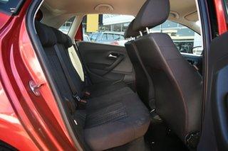 2015 Volkswagen Polo 6R MY15 66 TSI Trendline Orange 5 Speed Manual Hatchback