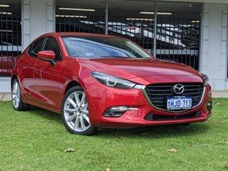 2017 Mazda 3 BN5238 SP25 SKYACTIV-Drive GT Red 6 Speed Sports Automatic Sedan.