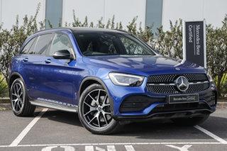 2020 Mercedes-Benz GLC-Class X253 800+050MY GLC300 9G-Tronic 4MATIC Brilliant Blue 9 Speed.