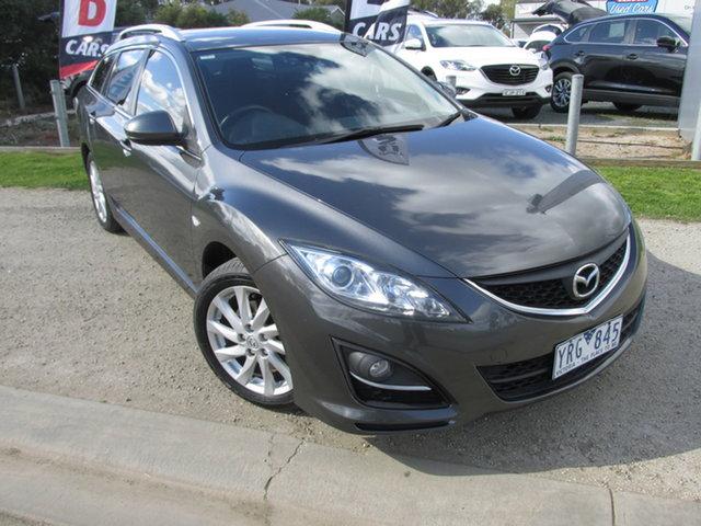 Used Mazda 6 GH1052 MY10 Classic Echuca, 2011 Mazda 6 GH1052 MY10 Classic Grey 5 Speed Sports Automatic Wagon