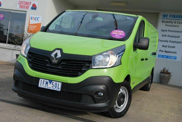 Used Renault Trafic X82 LWB Wendouree, 2015 Renault Trafic X82 LWB Green 6 Speed Manual Van