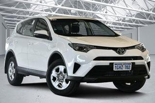 2017 Toyota RAV4 ZSA42R GX 2WD Glacier White 7 Speed Constant Variable Wagon.