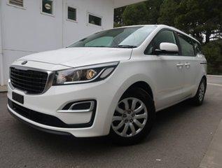 2019 Kia Carnival YP MY20 S White 8 Speed Sports Automatic Wagon.