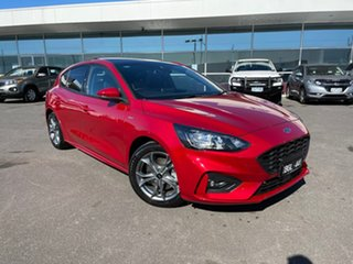 2020 Ford Focus ST-Line Red 8 Speed Automatic Hatchback.