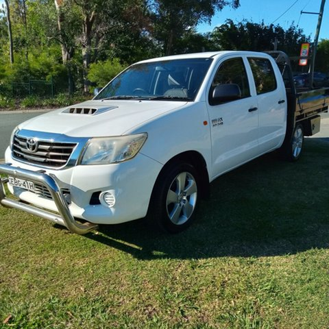 Used Toyota Hilux TGN16R MY12 Workmate Southport, 2012 Toyota Hilux TGN16R MY12 Workmate 4 Speed Automatic Dual Cab Pick-up