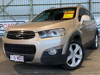 2011 Holden Captiva CG Series II 7 AWD LX Gold 6 Speed Sports Automatic Wagon.