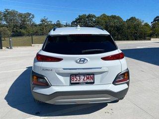 2019 Hyundai Kona OS.3 MY20 Elite 2WD White 6 Speed Sports Automatic Wagon