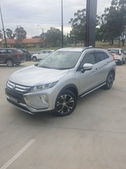 2018 Mitsubishi Eclipse Cross YA MY18 LS 2WD Silver, Chrome 8 Speed Constant Variable Wagon