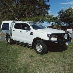 2015 Ford Ranger PX MkII XL 2.2 Hi-Rider (4x2) 6 Speed Automatic Crew Cab Pickup.