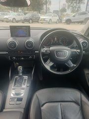 2014 Audi A3 8V Attraction Sportback S Tronic Silver, Chrome 7 Speed Sports Automatic Dual Clutch