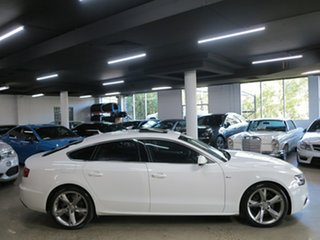 2015 Audi A5 8T MY16 Sportback Multitronic White 8 Speed Constant Variable Hatchback