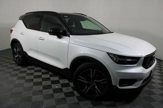 2018 Volvo XC40 XZ MY18 T5 R-Design AWD Launch Edition White 8 Speed Sports Automatic Wagon.