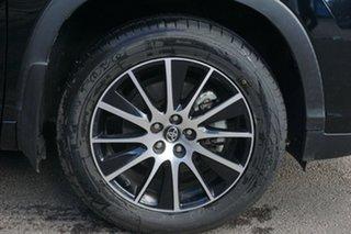 2018 Toyota Kluger GSU55R Grande AWD Black 8 Speed Sports Automatic Wagon