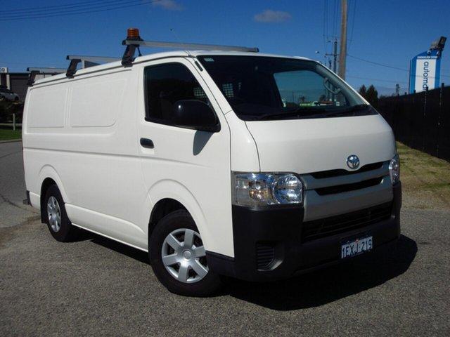 Used Toyota HiAce TRH201R MY15 LWB Wangara, 2015 Toyota HiAce TRH201R MY15 LWB White 6 Speed Automatic Van
