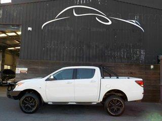 2013 Mazda BT-50 UP0YF1 XTR White 6 Speed Manual Utility