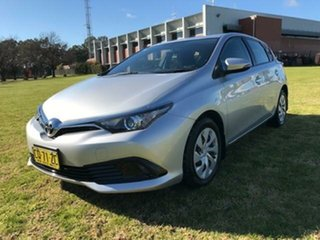 2018 Toyota Corolla ZRE182R MY17 Ascent Silver Pearl 7 Speed CVT Auto Sequential Hatchback.